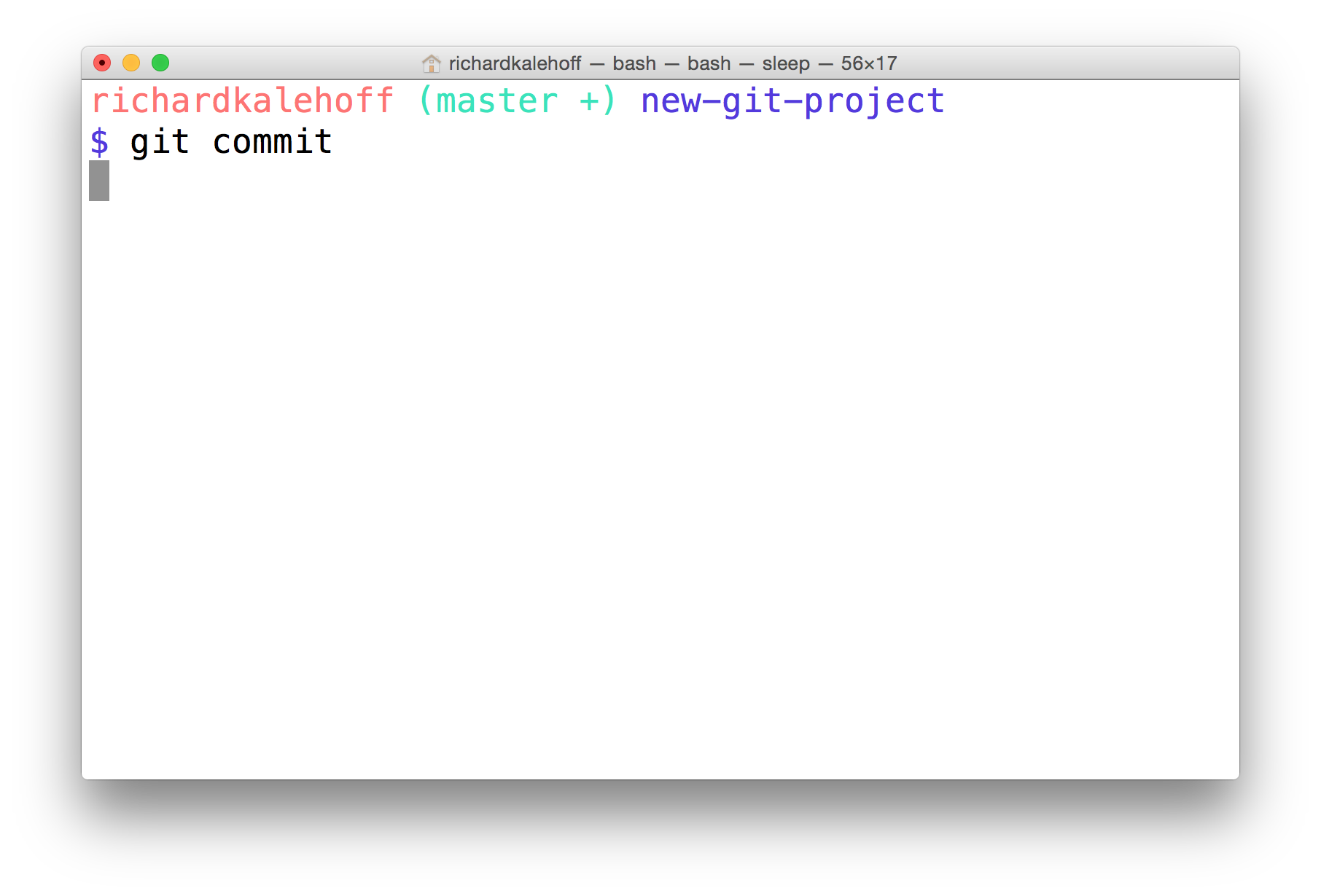 Version Control with Git : Lesson 4 : Add Commits To A Repo