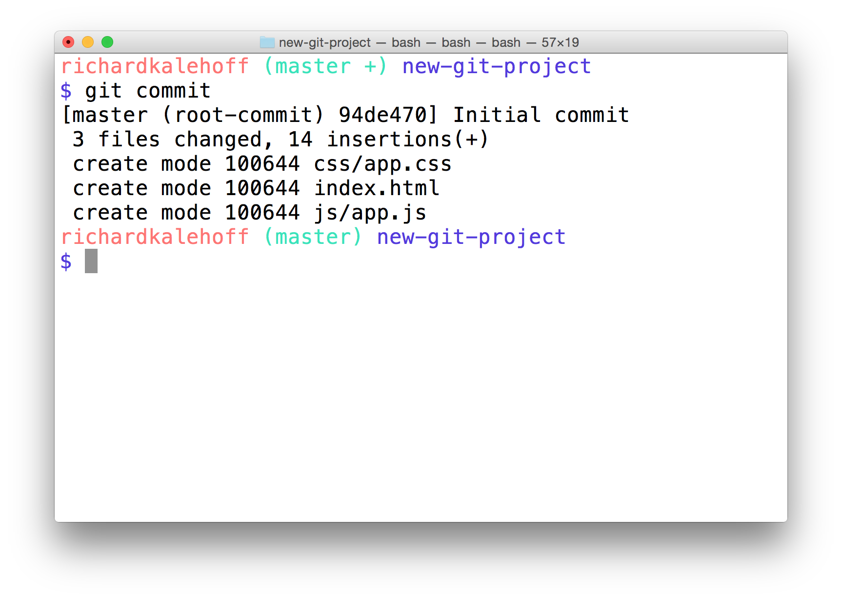 Version Control with Git : Lesson 4 : Add Commits To A Repo   BlackPaper